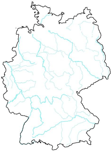 Flüsse Deutschland Karte Zum Ausfüllen Nora Kdesign