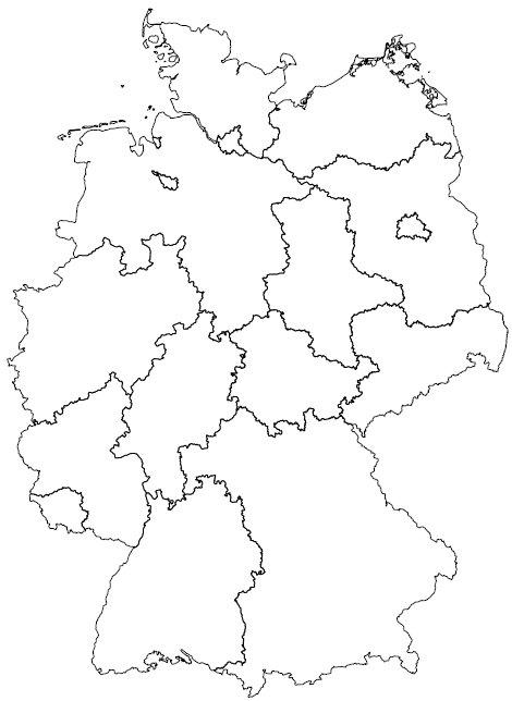 Bundesländer Karte Ohne Namen.Anzeige Von Stimulus Und Kognition Zur Aktivierung Mentaler